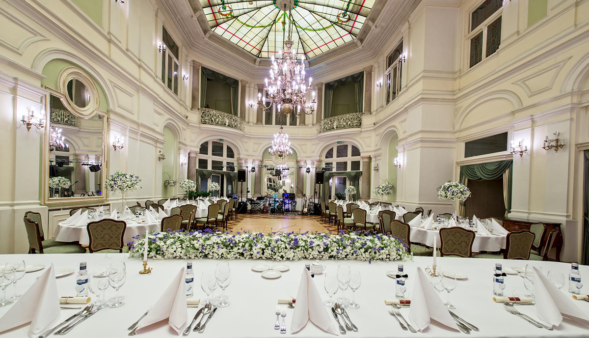 Przyjęcia Weselne W Grand Hotel Kraków